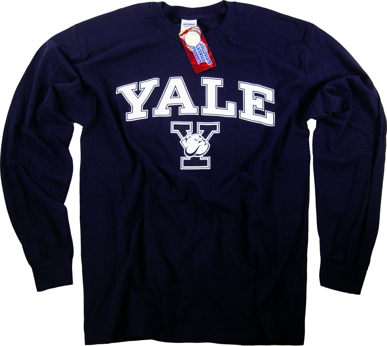 Yale shirt t shirt bulldogs college university apparel for University t shirts with your name