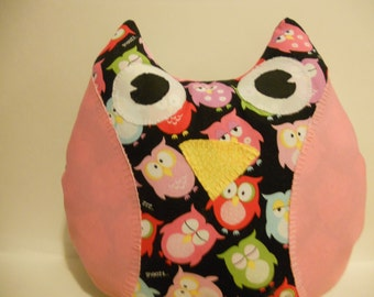Owl Pillow, Owl Decor, Kids Room, Decorative Pillow, Bedroom Decor, Stuffed Owl