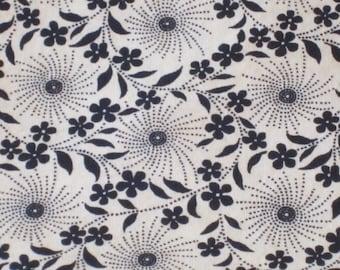 Modern, Elegant Flowers & Swirls- Standard Pillow Case