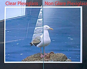 Non-Glare Plexiglass For Picture Frames