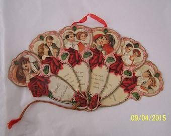 Made in Germany Vintage Valentine Fan
