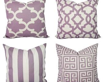 Purple Pillows Etsy