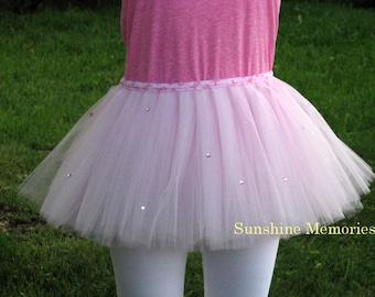 Pretty In Pink Jeweled Running Tutu