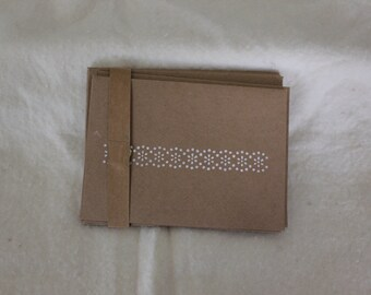Flower/Dot Card Set