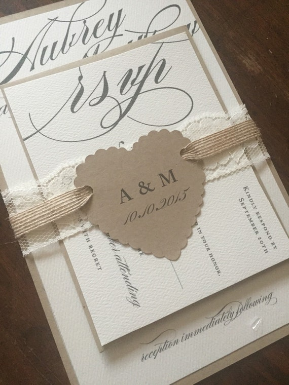 Elegant Wedding Invitations Rustic And Vintage Barn Weddings