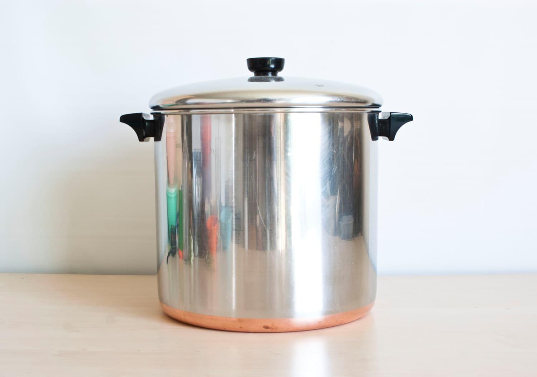 Revere Ware Huge 12 Quart Stock Pot Revereware Home Canning