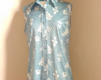 60's Sleeveless blouse