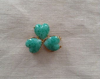 50s clover brooch