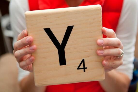Oversized Scrabble Tiles Diy Vinyl Decal For 6 8 Tile