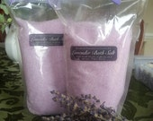 Relaxing, Sleep-inducing, Lavender Bath Salts