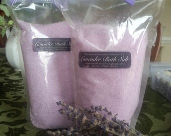 Relaxing, Sleep-inducing, Lavender Bath Salts
