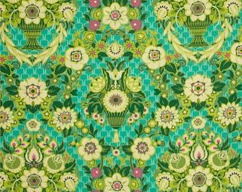 Amy Butler Fabric -  Garden Fete - Grass - Rowan-100% High Quality Cotton - PWAB 137