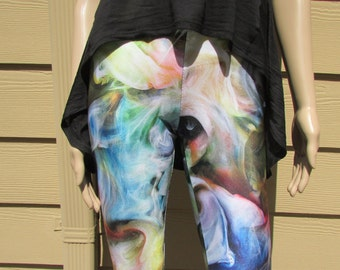 Liquid Smoke Spandex Leggings