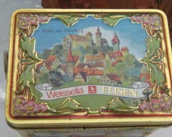 "Sheet music box ""Nuremberg in the middle ages"""