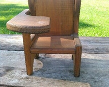 Unique Antique Childs Chair Related Items Etsy