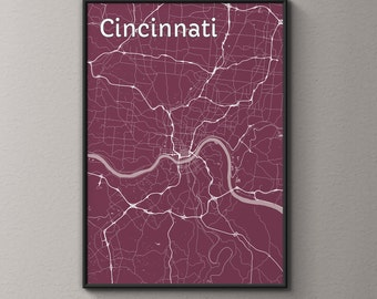 Home Decor Cincinnati deal of the day 30 off lanterns some exclusions apply on line Cincinnati Map Custom Art Map Art Street Map Cincinnati Art Personalized