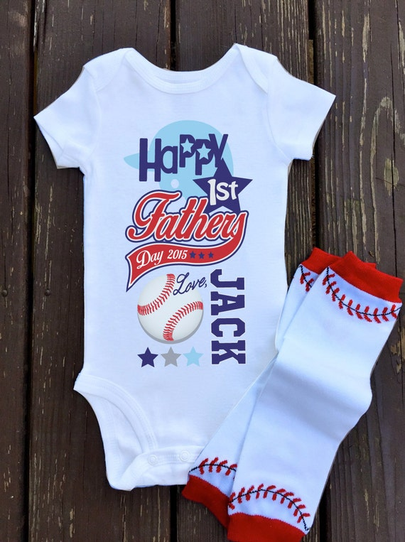 Baby Boy Happy 1st Fathers Day Onesie By Shoppicadilly On Etsy
