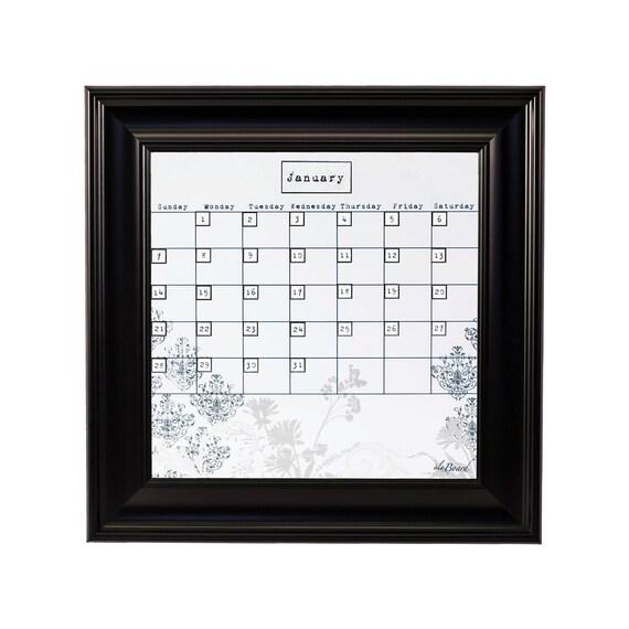 Dry Erase Weekly Calendar : Blank dry erase calendar monthly
