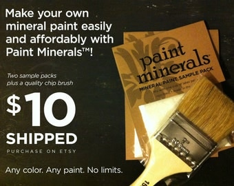 Paint Minerals™ Sample Special | FREE SHIPPING