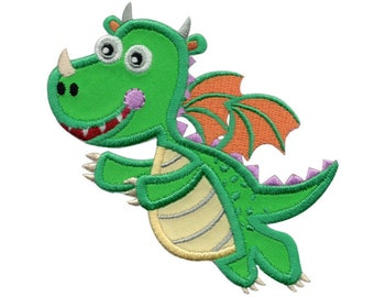 Dragon Iron-On Patch Applique - Kids / Baby