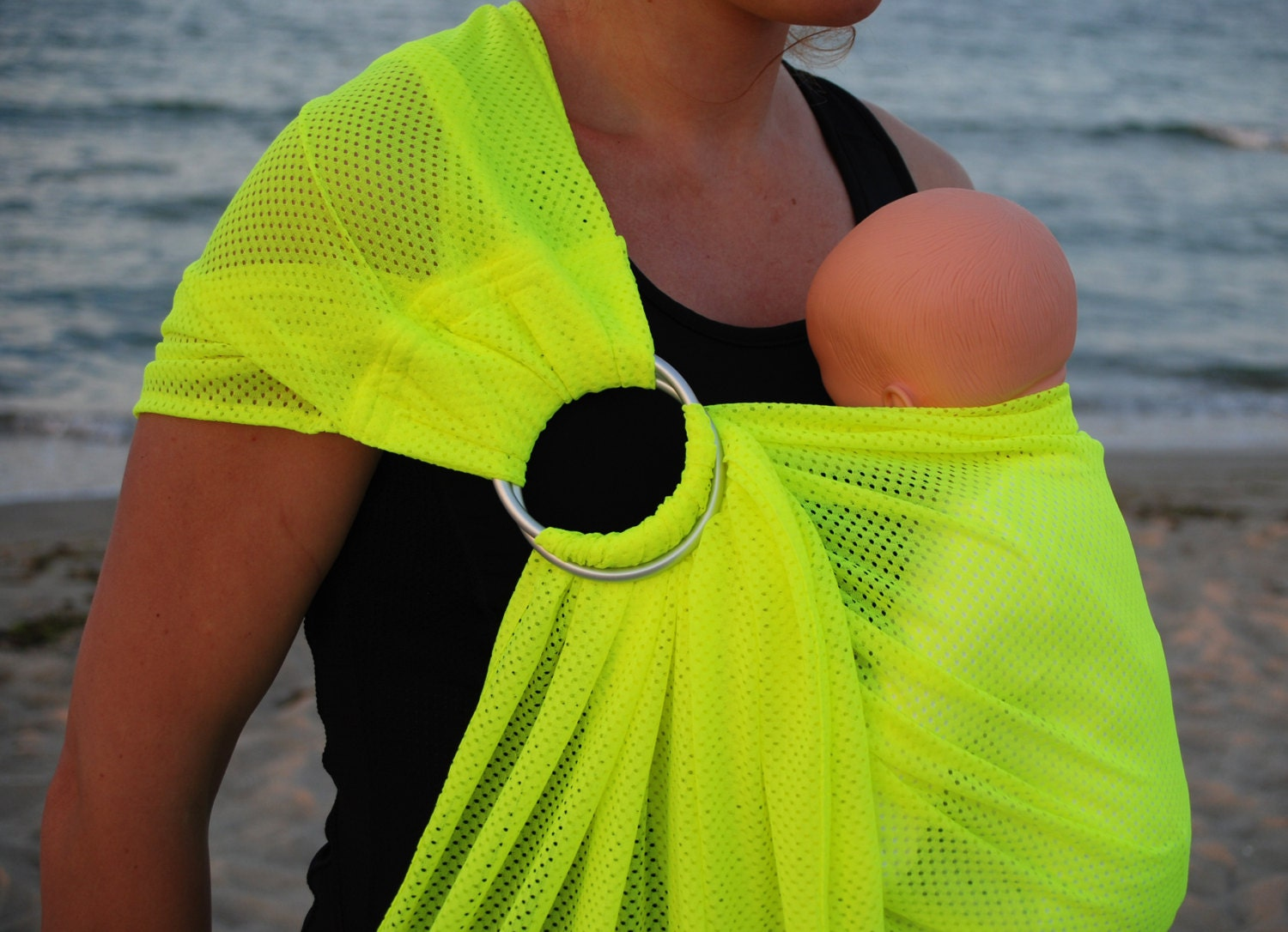 Water Ring Sling/Mesh Water Sling/Summer Holiday by LittleBunga
