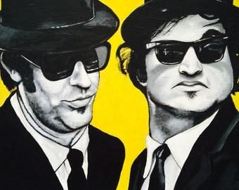 ART PRINT 'Blues Brothers'