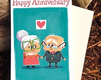 Anniversary Card, Happy Anniversary, Marriage Card
