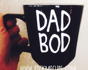 dad bod- rockin this dad bod- dad bods are cool  - best fu***ing Dad We love you, Dad Coffee mug - FATHERS Day Mug