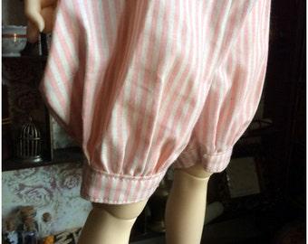 Pink/White Pumpkin Pants (SD Doll)