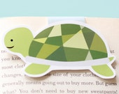 Turtle Magnetic Bookmark (Jumbo)