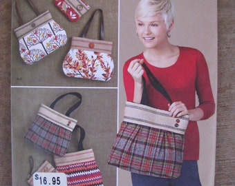 Simplicity 1519 Tote Bag, Purse, Wristlet Pattern