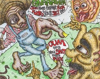 Sht Knee Farmer Fck
