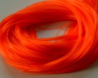 PREORDER L Hank Clockwork Orange Nylon Doll Hair for OOAK Custom Monster High My Little Pony Blythe