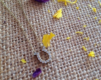Gypsy Daughter Horseshoe Necklace