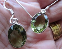 Sterling silver amethyst earrings silver amethyst earrings 925 faceted amethyst earrings 925 amethyst earrings February birthstone clearance