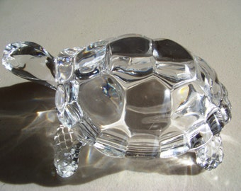 Crystal Turtle Stunning Brilliant Beautiful Piece