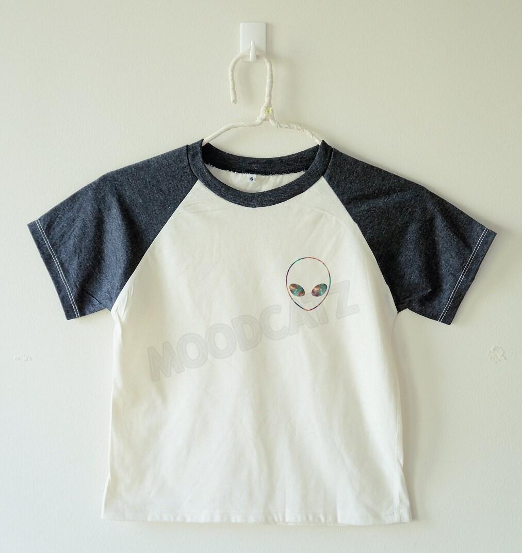 Galaxy alien shirt funny shirt cool shirt galaxy shirt alien for Galaxy white t shirts wholesale