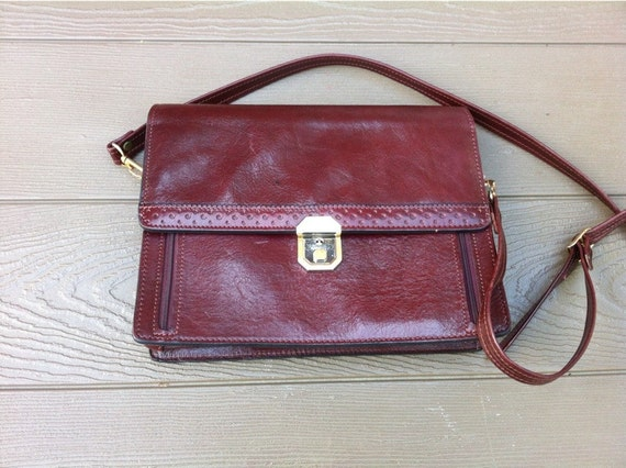 items similar to renwick burgundy italian leather handbag