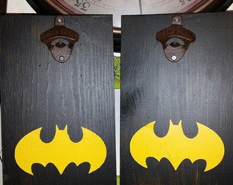Batman Cast iron Bottle opener decor