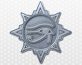 Guided By Spirit Antique Silver Pin