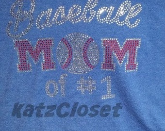 Baseball Mom of # X