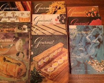 Gourmet magazines 1966-1970
