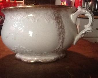 SALE Vintage Homer Laughlin Slop Pot/Chamber Pot