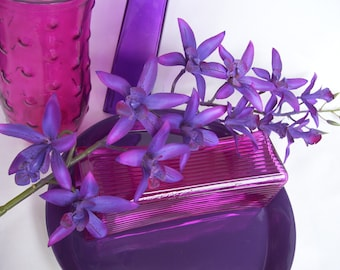 4 Stems Purple Luna Star Dendrobium Orchids Singapore