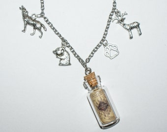 Marauders Charm Necklace