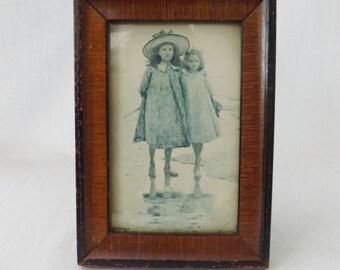 SALE! Towards Evening by Edouard van Goethem (1857-1924) Vintage Print Antique Photo Frame Collectible Art