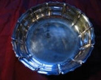 Bowl, Lunt, Silverplate, Lotus