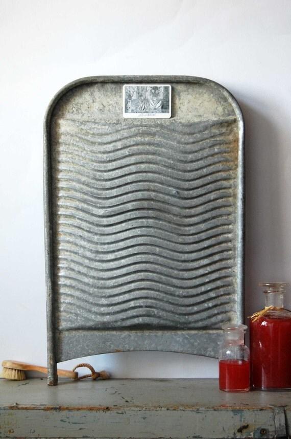 Vintage Wash Board 89