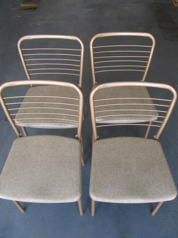 folding chairs cosco folding chairs vintage by maggiescellar. Black Bedroom Furniture Sets. Home Design Ideas