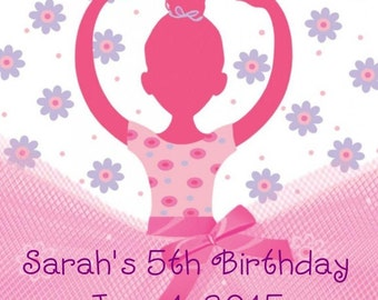 60 Ballet Birthday Party Favor Tags